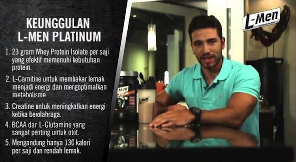 Keunggulan Suplemen Fitness L-Men Platinum