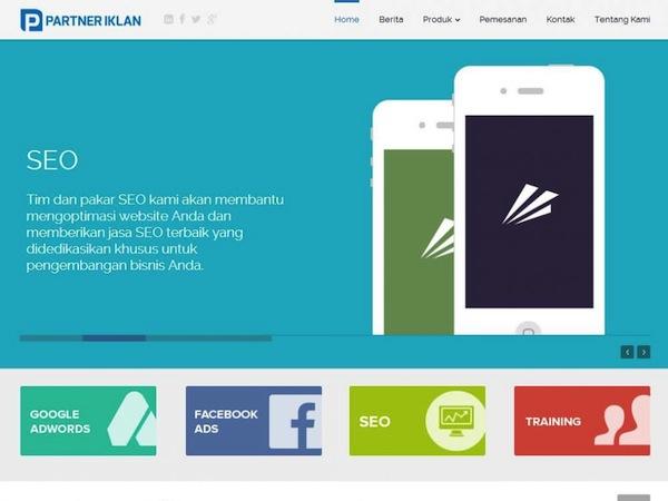 Penyedia Jasa Pembuatan Website Partner Iklan