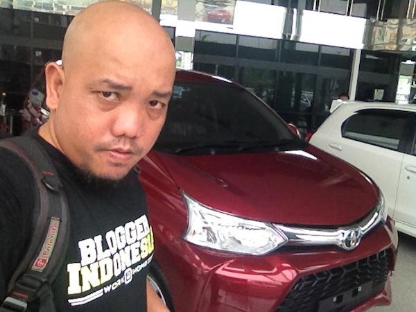 Blogger Borneo Selfie dengan Grand New Veloz