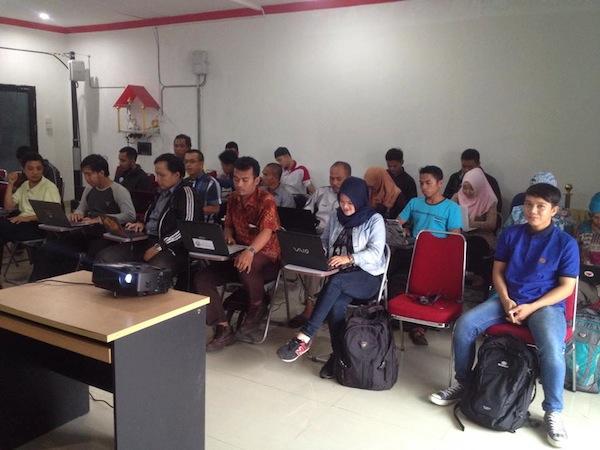 Para Peserta Workshop Blog Pontianak Session 1