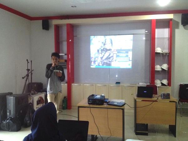 Pemateri Sesi III Workshop Blog Pontianak Session 1