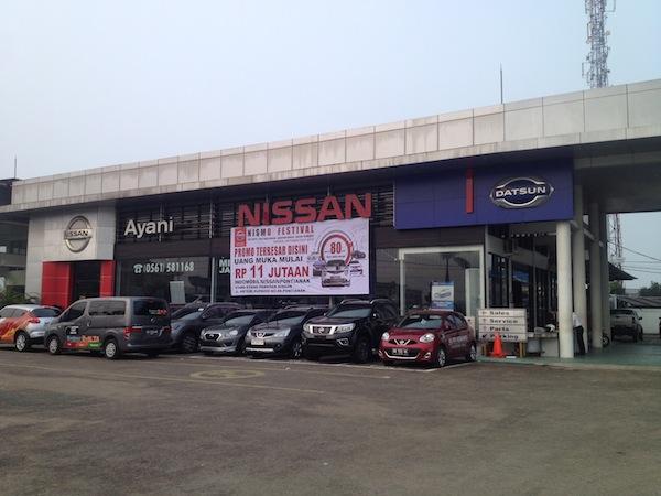 Test Drive Datsun GO Panca - Kantor Pusat