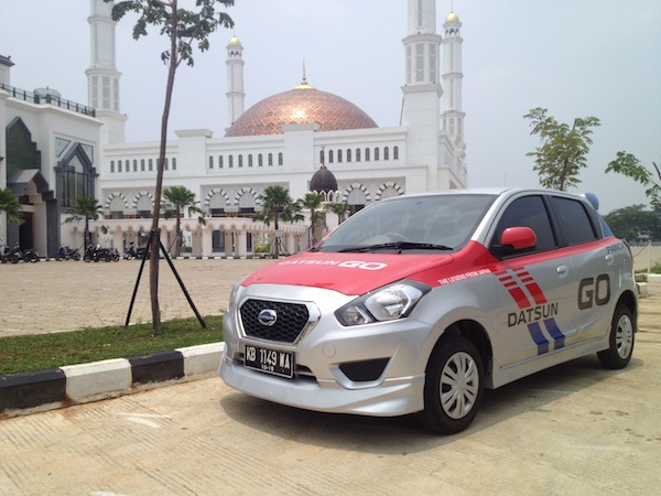 Test Drive Datsun GO Panca - Masjid Raya Mujahidin