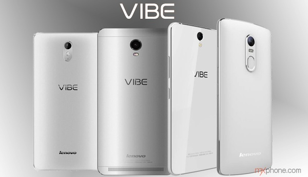 Lenovo Vibe Series Family Portrait