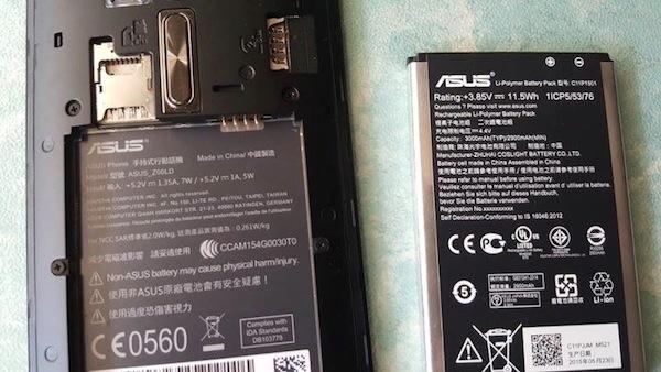 ASUS Zenfone 2 Laser Battery