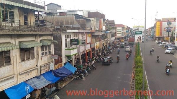 Kawasan Pasar Tanjungpura Pontianak