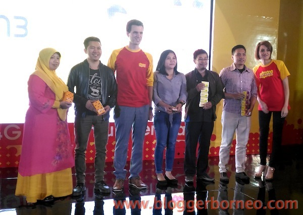 Para Pemenang Doorprize Peluncuran Indosat Ooredoo 4GPlus4All Pontianak