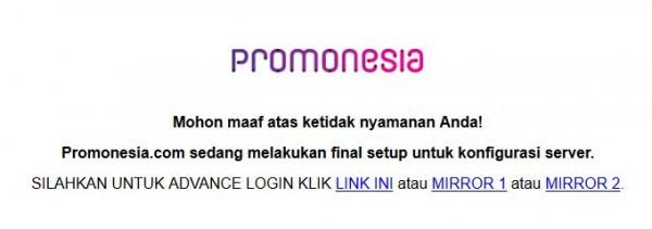 Website Promonesia Tidak Bisa Diakses