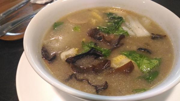 Cafe and Resto Rumah Qte Menu Sapo Tahu Seafood