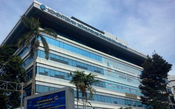Kantor Kemenkominfo RI di Jakarta