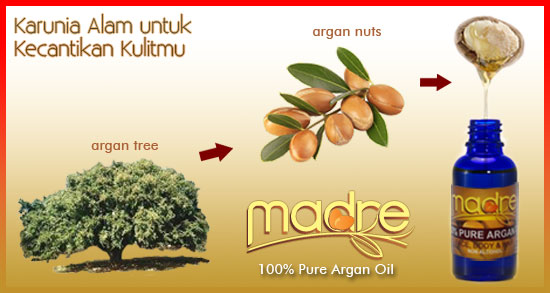 Madre Argan Oil (Sumber: MinyakArganMadre.Com)