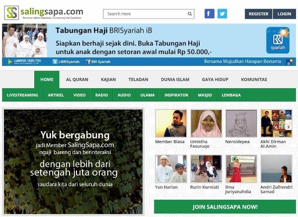 SalingSapa.Com - Halaman Depan