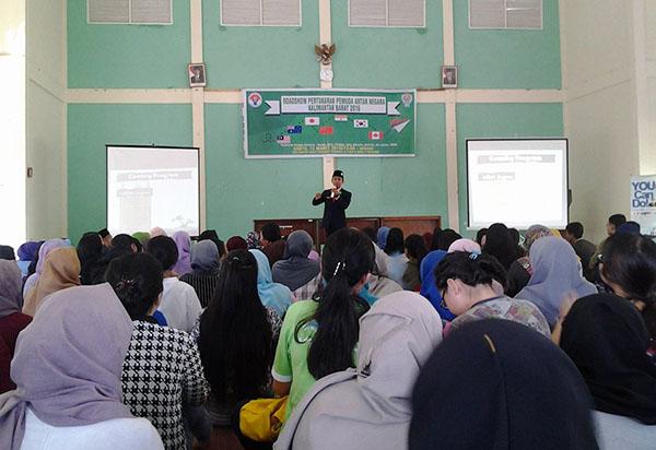 Presentasi Program Pertukaran Pemuda Antar Negara Kalimantan Barat 2016