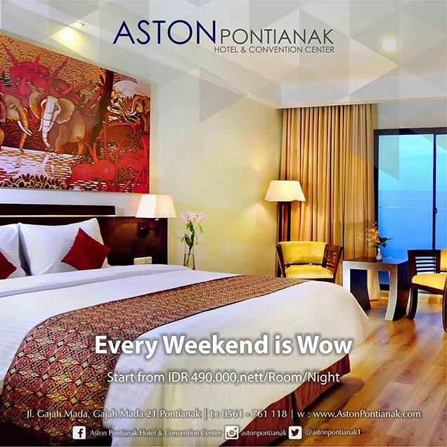 Promo Hotel Aston Pontianak