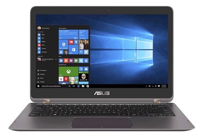 ASUS ZenBook Flip UX360UAK Tampak Depan