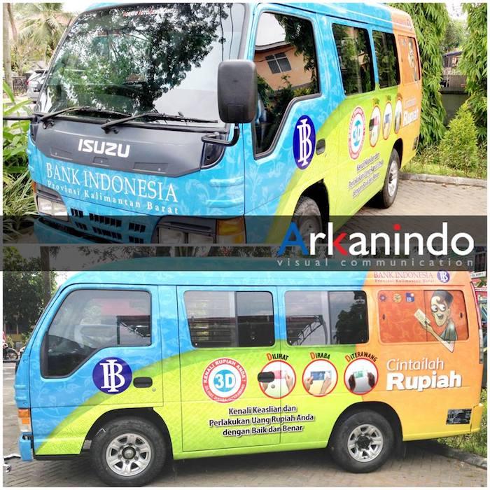 Arkanindo - Jasa Desain Stiker Mobil Pontianak