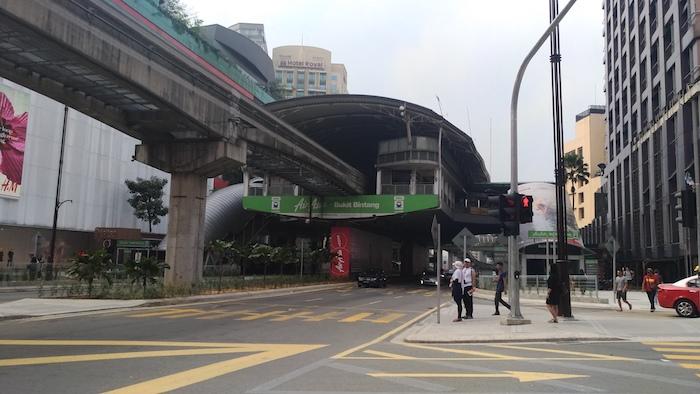 Air Asia Bukit Bintang Monorail Station