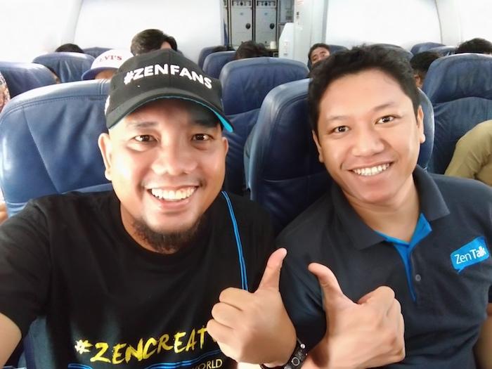 Blogger Borneo and Bang Freddy Hernawan