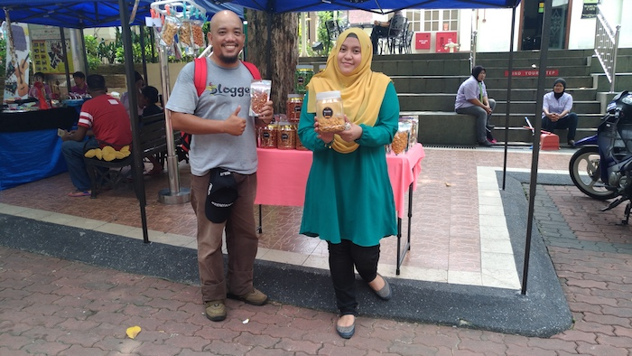 Stand Produk Snack Lokal BissCookiss Malaysia