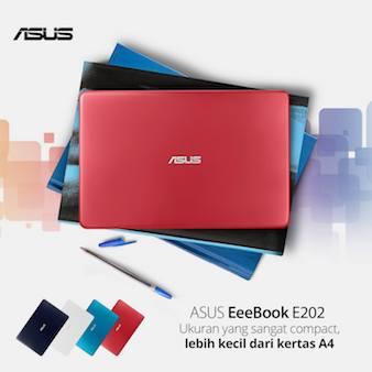 ASUS E202 - Desain Mungil Ukuran Mini