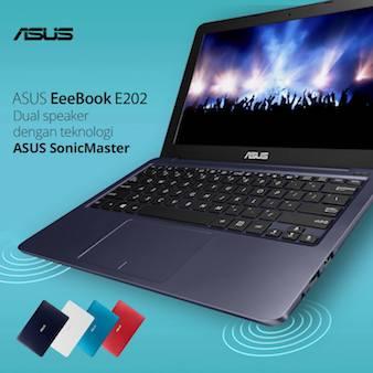 ASUS E202 - Kualitas Suara Maksimal