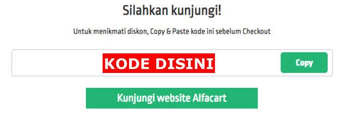 Link Menuju Website Voucher AlfaCart