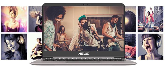 ASUS ZenBook UX410UQ SonicMaster Technology