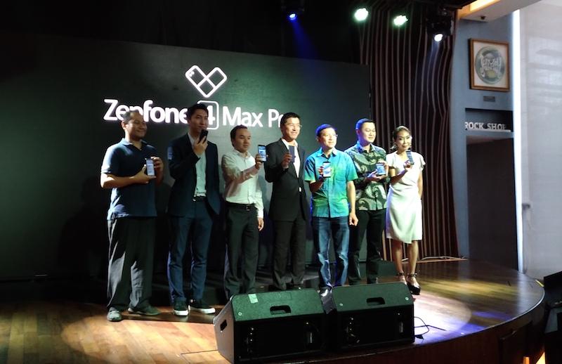 ASUS ZenFone 4 Max Pro Media Launch