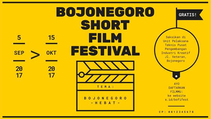 Bojonegoro Short Film Festival 2017