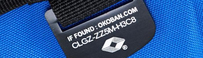 Okoban Tracking System CabinZero Bag