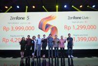 ASUS Luncurkan ZenFone 5 Series dan Live L1