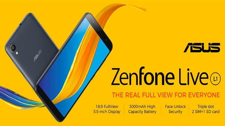 ASUS ZenFone Live L1 Flash Sale