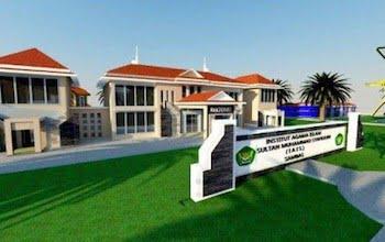 Sketsa Bangunan IAI Sultan Muhammad Syaifuddin Sambas