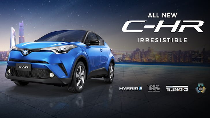 Toyota All New CHR Irresistible