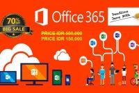 Microsoft Office 365 2016 Original Lifetime Discount 70 Off